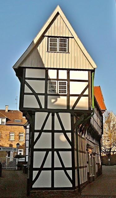 Hattingen, Bügeleisenhaus von 1611