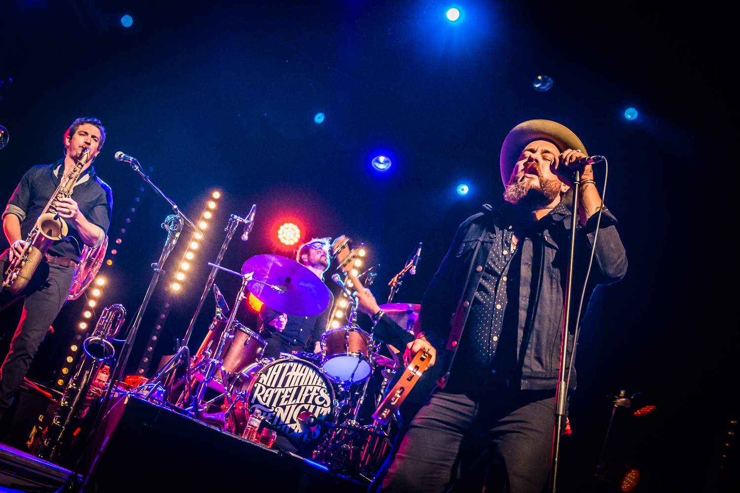 Nathaniel Rateliff And The Night Sweats @ Ancienne Belgique (© Timmy Haubrechts)