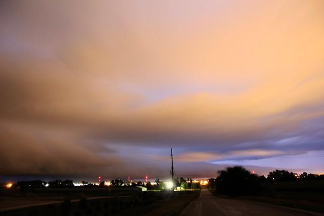 080113 - Nebraska Shelf Cloud a Cometh!