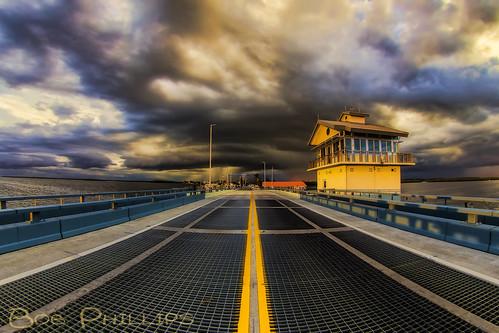 sunset gulfofmexico clouds florida drawbridge matlacha middleoftheroad pineisland pineislandsound