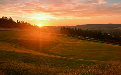 green club sunrise golf scotland 8th moray dufftown