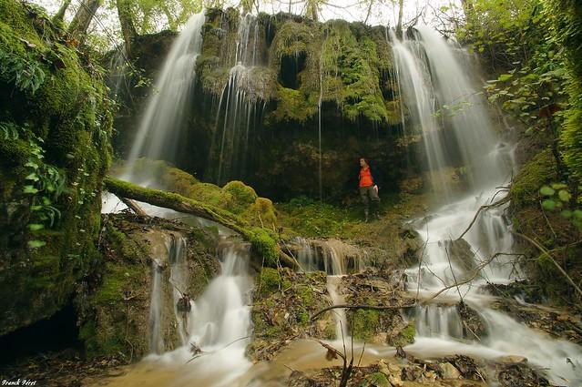 Cascade tuffière de Maisey - vers Lods