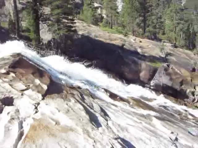 3520 Video of Waterwheel Falls on the Tuolumne River