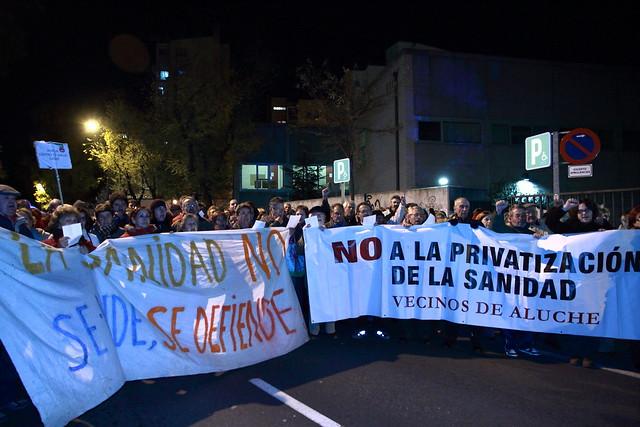 No a la Privatización de nuestro Centro de Salud de los Yébenes. Mani 20N