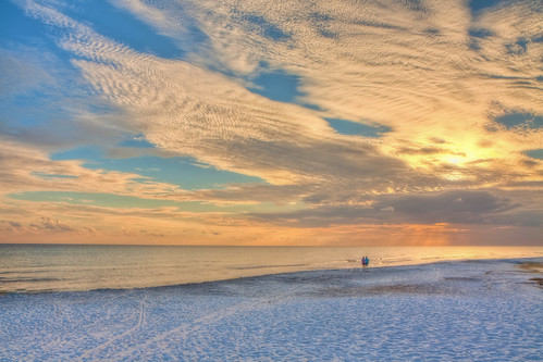 world ocean light sunset sea summer vacation sun seascape color art beach water colors beauty clouds photoshop canon painting sand october raw day gulf florida cloudy wideangle tiff hdr topaz photoshopelements floridastatepark hss photomatix emeraldcoast canonefs1755mmf28usm garyoliver southwaltoncounty hwy30a rebelxsi canonxsi topazadjust grandalloliver grandalloliverphoto beachesofsouthwaltoncounty