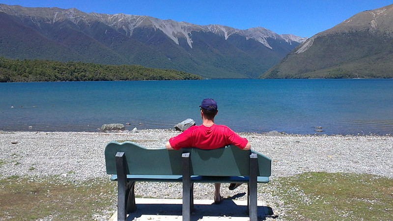 Summer vacation at Nelson Lakes, St Arnaud