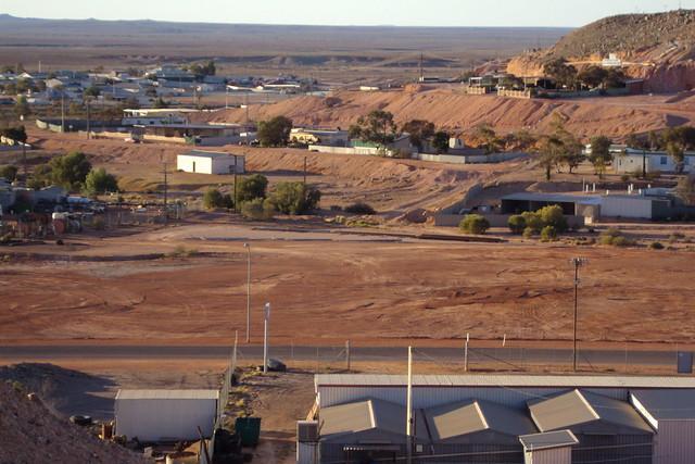 Coober Pedy. Opal mining town.