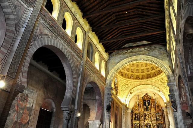 283 - Interior - Iglesia San Román (Toledo) - Spain.