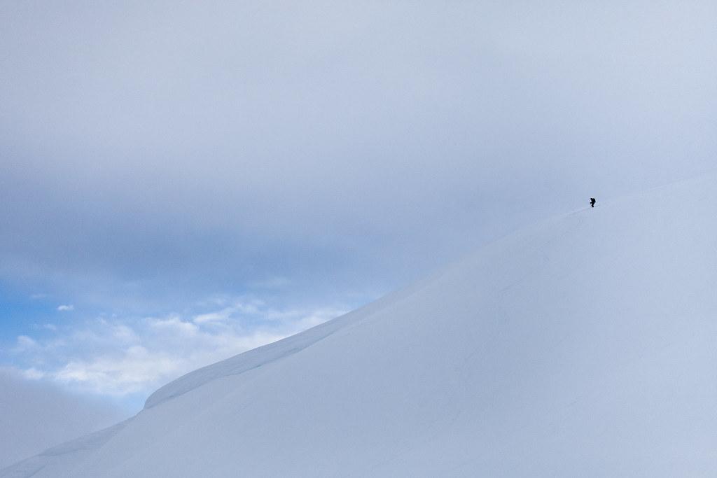 Bluebird Skier