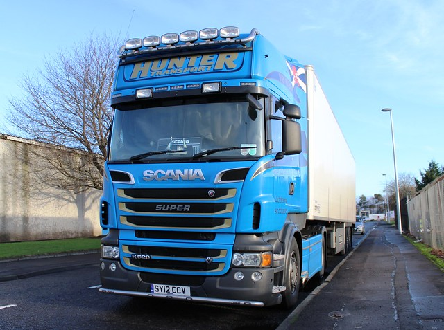SCANIA Super R620 V8 - HUNTER Transport Lochinver