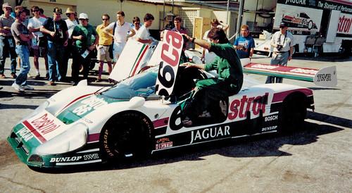TWR Jaguar XJR-9 | 1989 Sunbank 24 at Daytona Drivers ...