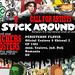 STICK AROUND!!!Romania's first international street art expo by 2efs STICK AROUND!!! expo