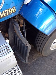 That was one HUGE pothole I hit last Sunday night on 25... more like a fender removing crater...