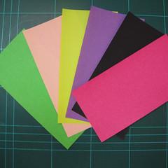 การพับกระดาษแบบโมดูล่าเป็นดาวสปาราซิส (Modular Origami Sparaxis Star) 001