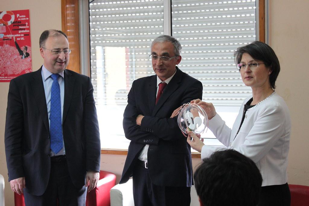 Inauguração da Antena de Informação Europeia do CIED Barcelos na Kerigma
