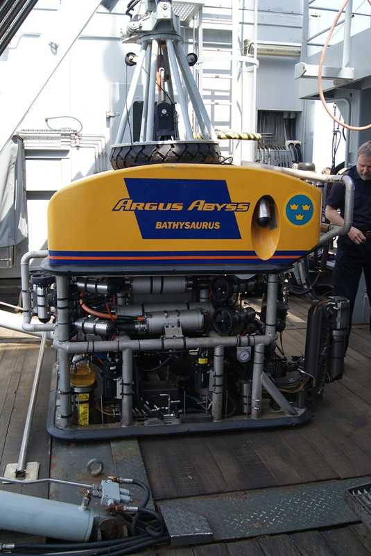 ROV on HMS Belos