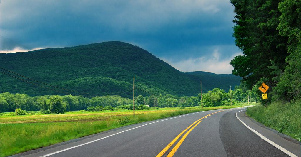 Pine Creek Valley Drive | PA Route 44 near the Clinton ...