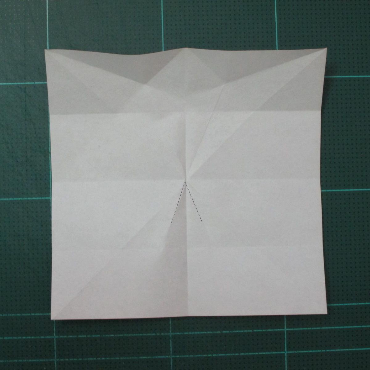 วิธีพับกระดาษเป็นที่คั่นหนังสือรูปผีเสื้อ (Origami Butterfly Bookmark) 009