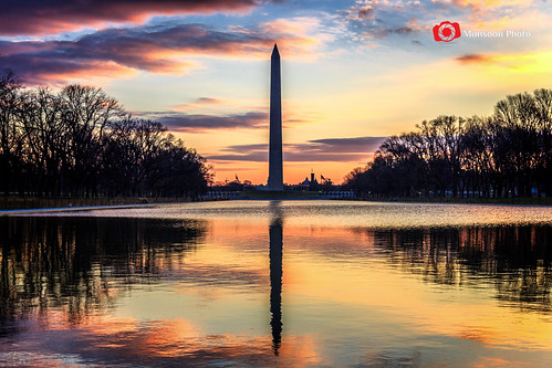 pool sunrise dawn washingtondc capital images getty washingtonmonument gettyimages refelction cmonsoonphoto