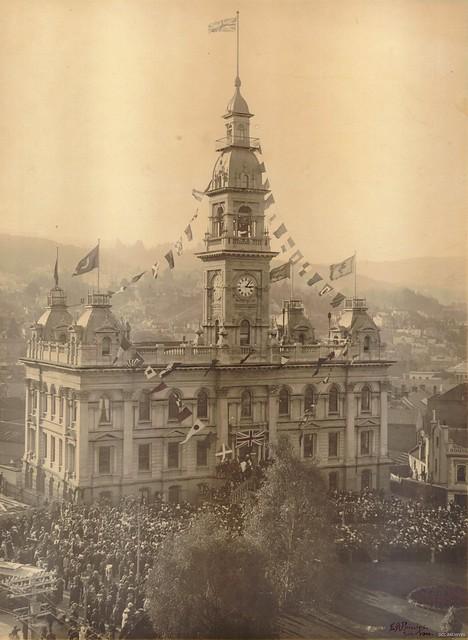 First Anniversary of Anzac Day, Municipal Chambers 1916