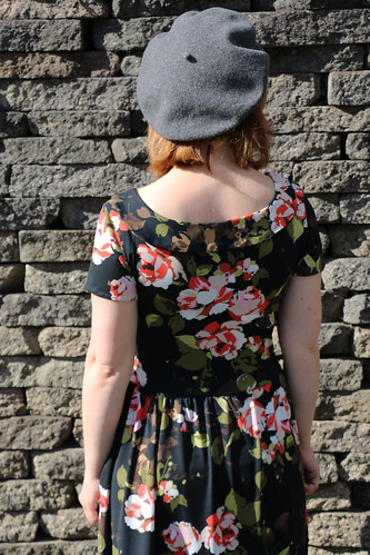 Colette Patterns Moneta in John Kaldor Floral Jersey | by English Girl at Home