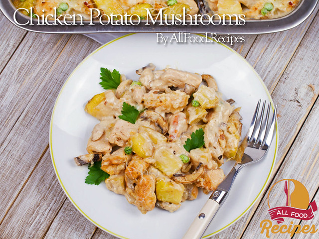 Chicken Potato Mushrooms 2