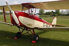 G-AOJK DH82A Tiger Moth Popham 100509