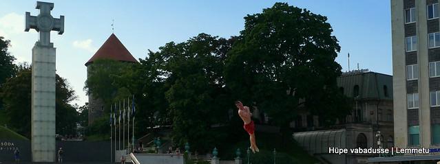 Hüpe vabadusse. Leap to freedom.
