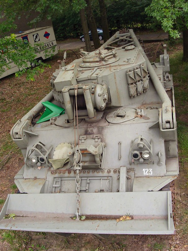 M74 Tank Recovery Vehicle 2