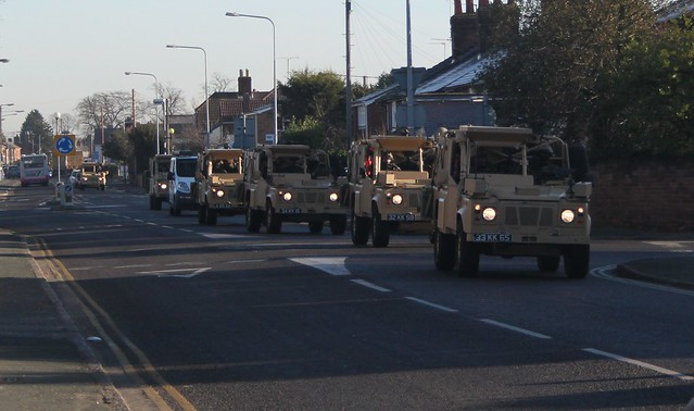 Guess we got ourselves a convoy