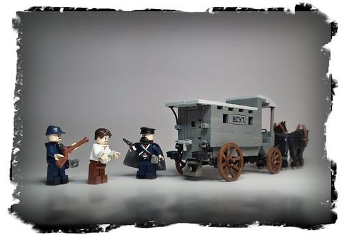Russian Empire prison wagon (XVIIIc.-1917)