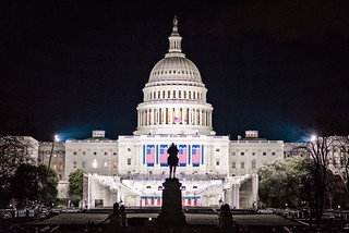 The U.S. Capitol Building Readied for Inauguration | by Geoff Livingston