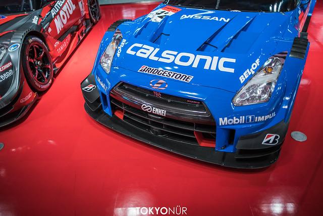 Nismo Exclusive // NISSAN GT-R NISMO GT500 // S Road CRAFTSPORTS MOLA x MOTUL AUTECH NISMO x Calsonic IMPUL at Nismo Showroom
