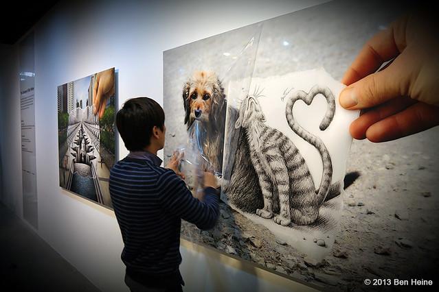 Ben Heine Solo Exhibition at Hyehwa Art Center in Seoul, South Korea