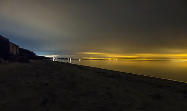 Lights on Cape Cod Bay - Explored 12/4/13