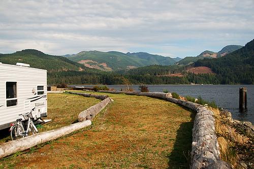 Macktush Campground, Alberni Inlet, Alberni Valley, Vancouver Island, British Columbia, Canada