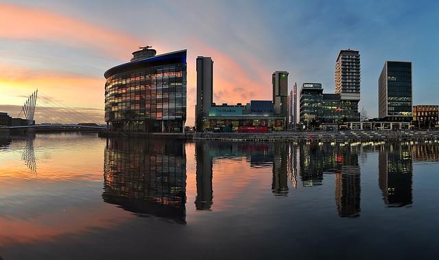 Dock 9 sunset