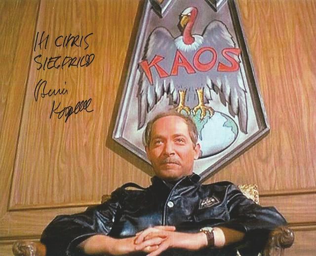 Bernie Kopell Siegfried Kaos Get Smart