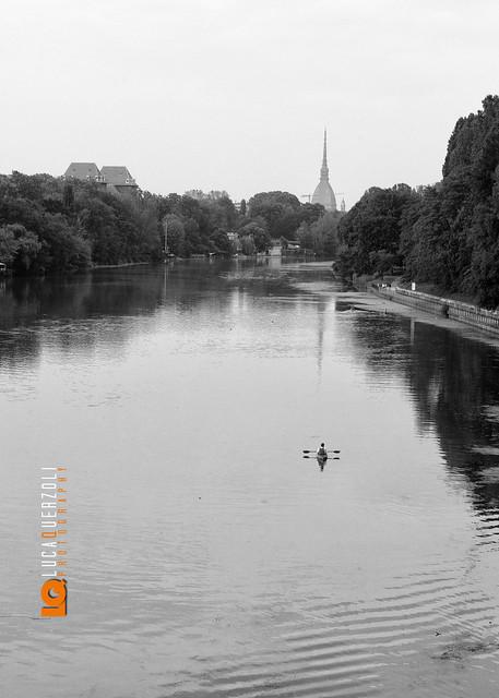 La Mole vista dal Ponte Isabella