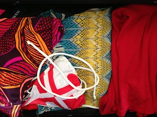 """The """"island"""" section of the suitcase 