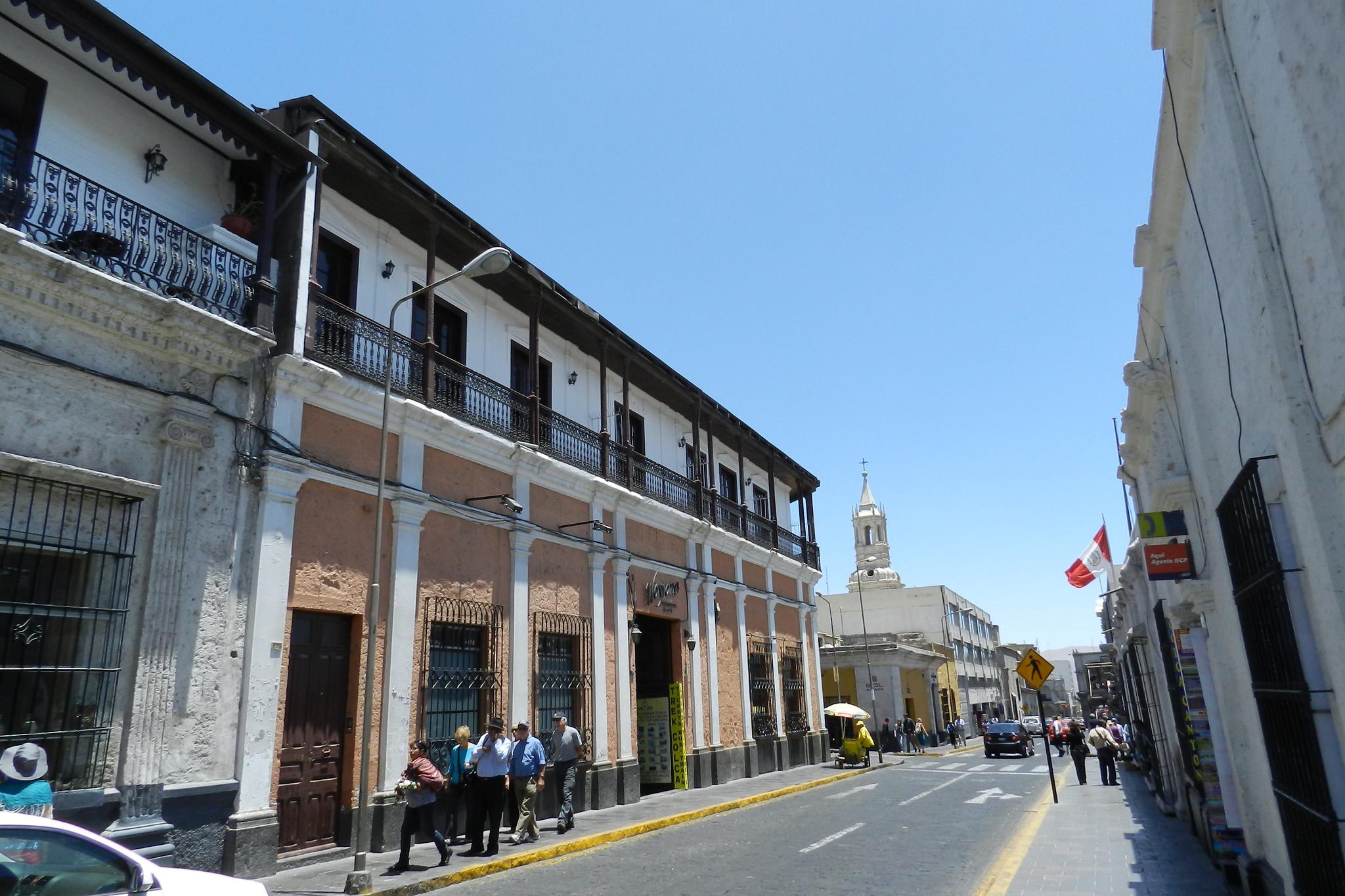 Arequipa casco histórico Perú