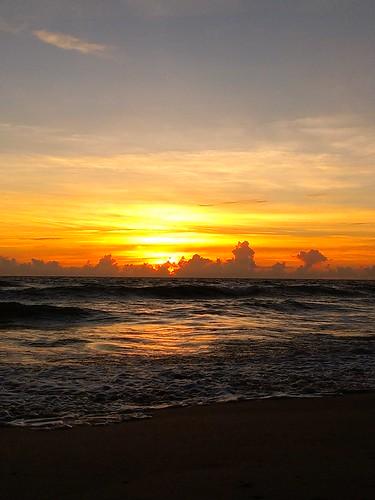flickrandroidapp:filter=none sebastianbeachinn seaside ocean sunrise sea sky coast shore beach florida