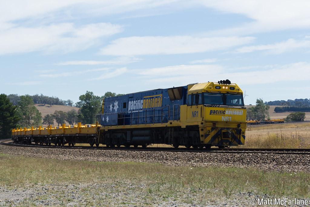 Empty Steel Train by Matt McFarlane