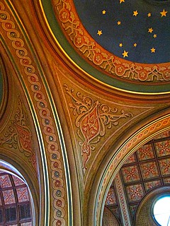 Spandrel and dome