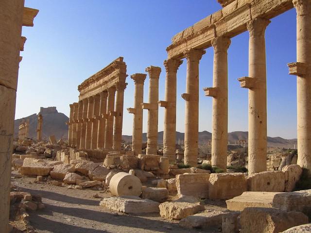 Ruinas de Palmira (Siria)