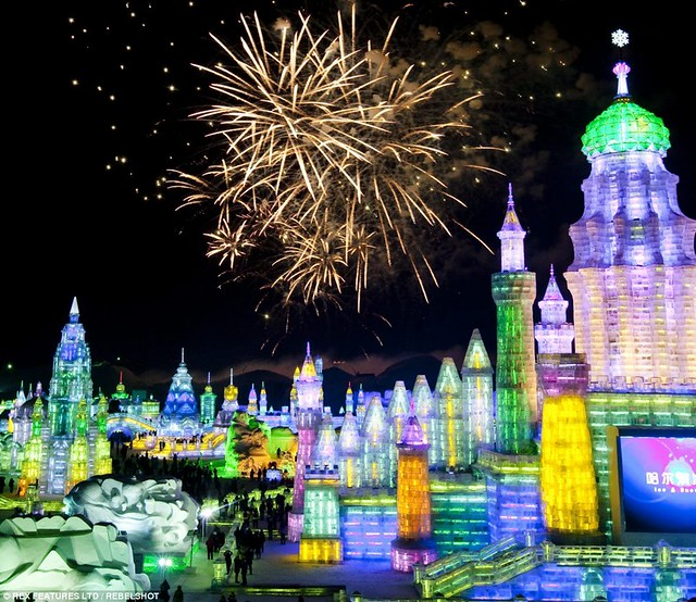 C - China Harbin Ice Festival 2014 - 5