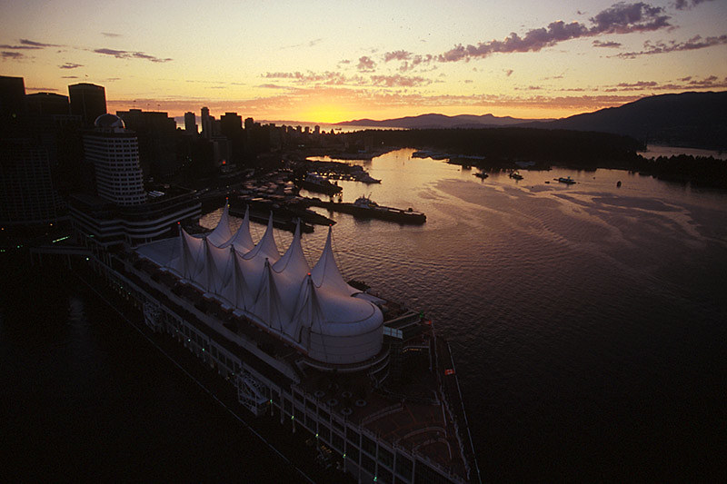 Vancouver Sunset, British Columbia, Canada