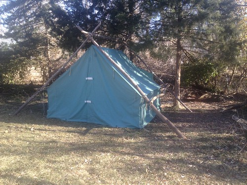 Boy Scout Wall Tent | by KC Wolf