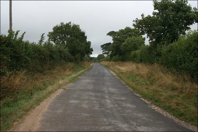 Exbury to Lepe Road near Lower Exbury