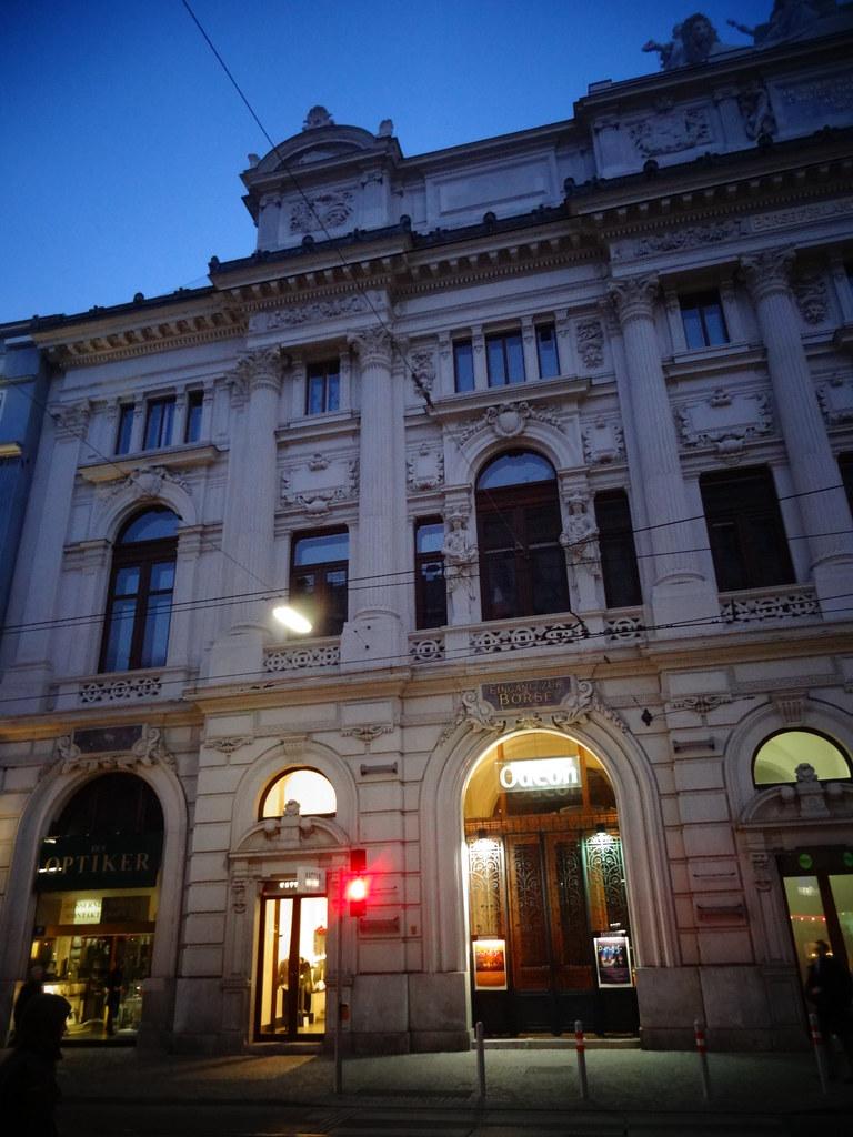 Wien, 2. Bezirk, Art of Facades of Vienna (Börse für Landw ...